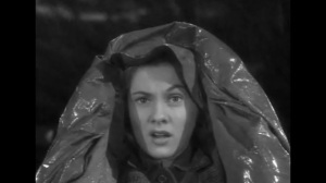In this fine display of acting what emotion is the actress trying to convey?Answer at the end of the post.