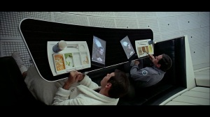 The lads on their iPads.