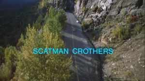 Is it racist to think that Scatman Crothers is a black man?Also the titles look like they were made with Windows Movie Maker.